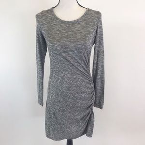 NWT Love Fire Stretchy Knit ruched Dress M